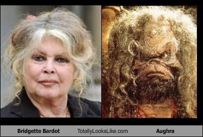 "Bridgette Bardot Totally Looks Like Aughra from ""The Dark Crystal"""