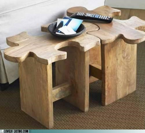 coffee table puzzle tables - 5220433152