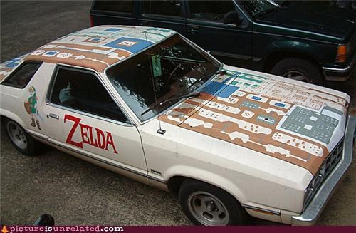 art,best of week,car,legend of zelda,wtf