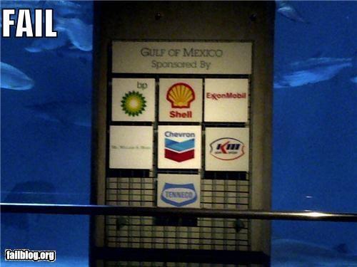 failboat,g rated,Hypocrisy,irony,oil,politics,signs,zoo