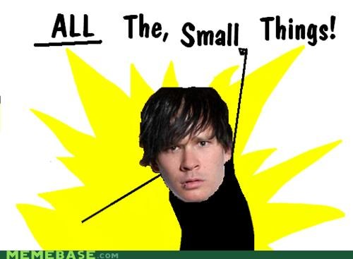 all the things,bands,blink 182,lyrics,small things,Songs