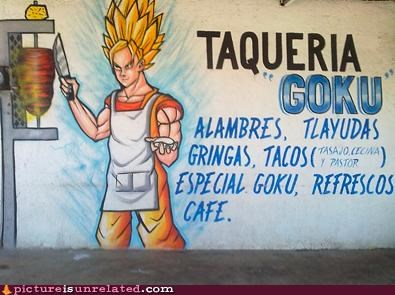 best of week,burrito,goku,restaurant,wtf