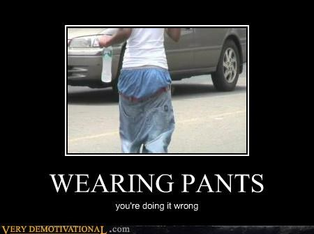 hilarious pants sagging - 5220665088