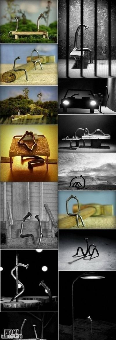 art,hardware,marriage,nail,photography,story,tools