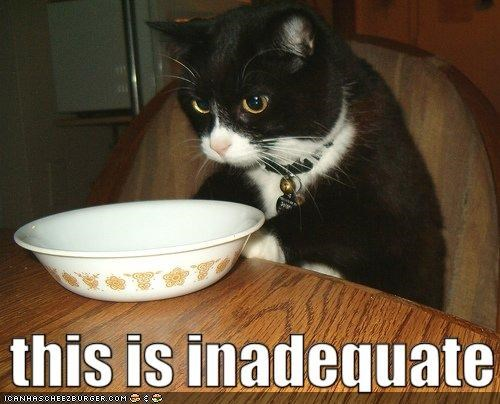 bowls classics food inadequate not happy - 5220787200