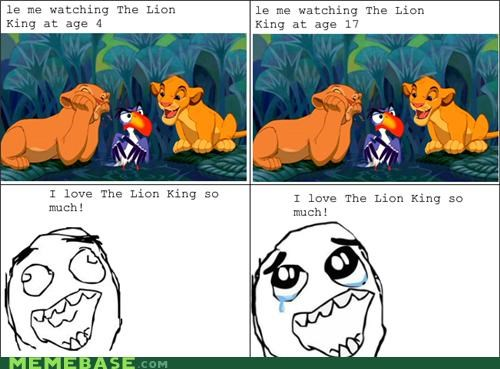 aging lion king movies Rage Comics - 5220897280