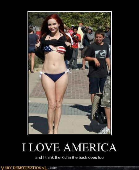 america bikini hilarious Sexy Ladies