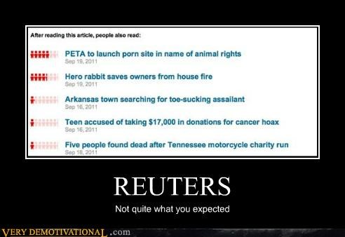 expected hilarious news reuters wtf - 5221011200