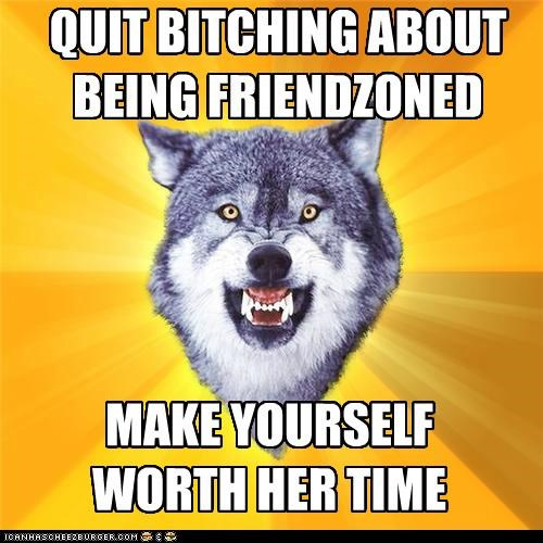 animemes Courage Wolf fiona friend zone girls time - 5221097728