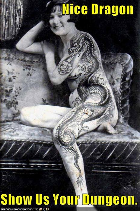 funny,lady,Photo,sexy,tattoo