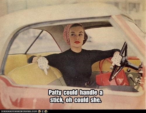 automobile car delightful handle a stick historic lols innuendo manual stick stick shift vintage - 5222128896