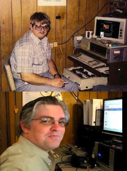 basement basement dweller basement nerd Before And After geek nerd Nerd News pics - 5222280960