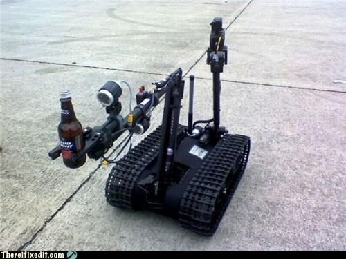 beer robot technology wtf