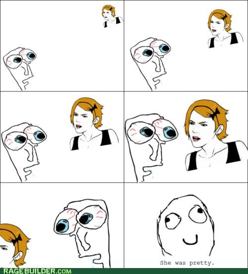 Awkward best of week girl Rage Comics Staring