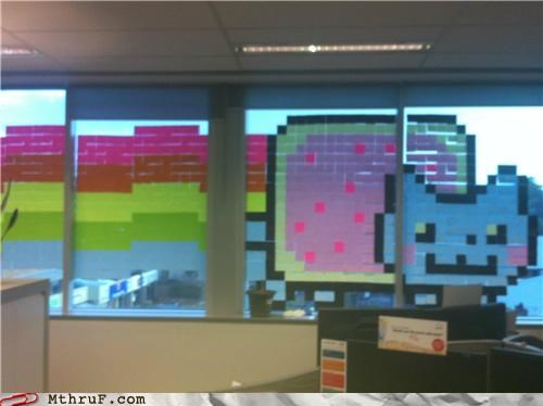 Nyan Cat post it post-it war sticky sticky notes - 5222850560