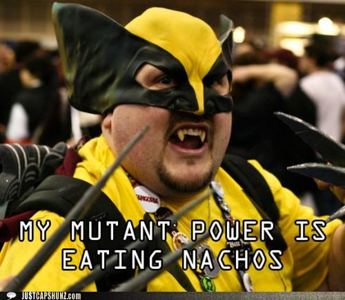cosplay costume fat mutants nachos powers wolverine - 5223198720