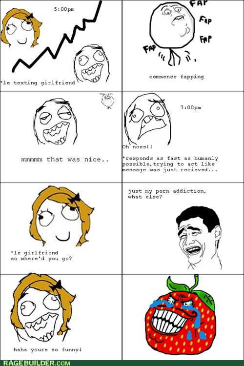 Awkward faptimes Rage Comics strawberry guy - 5223212544