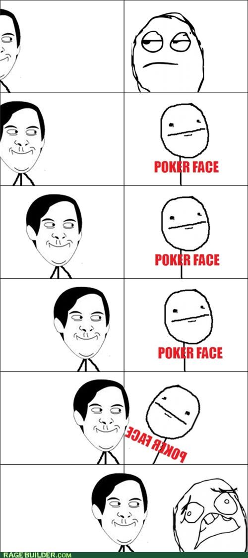 Awkward best of week poker face Rage Comics spiderpman - 5223351296