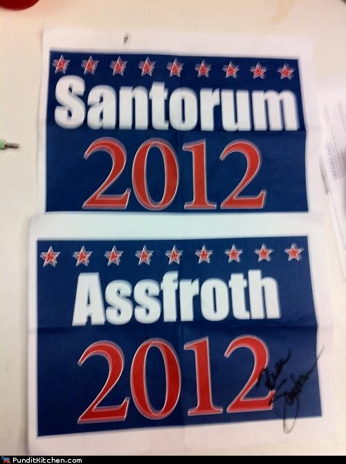 election 2012,political pictures,Rick Santorum,trolling