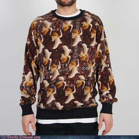 bananas design loud sweater - 5223780608