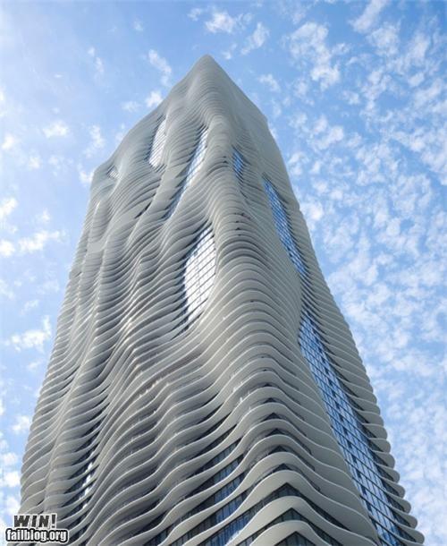 aqua architecture art building chicago design tower - 5224103424