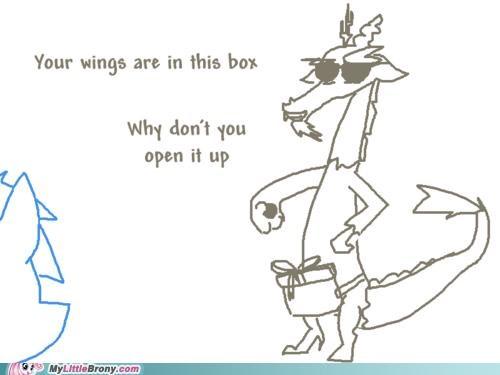 art discord open up present season 2 troll wings - 5224361728