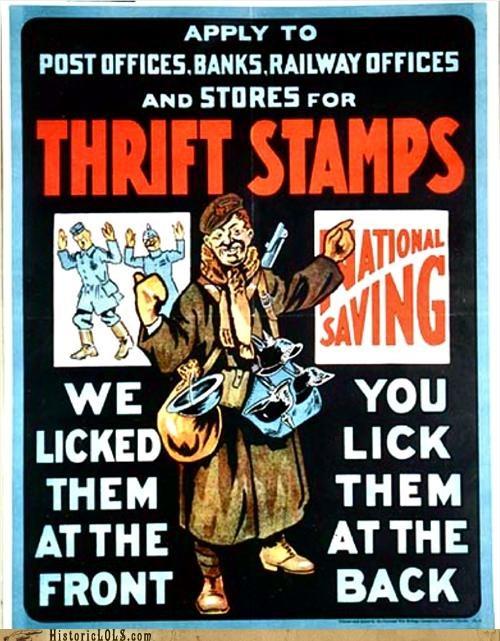 color funny historic lols poster vintage war wtf - 5224387328