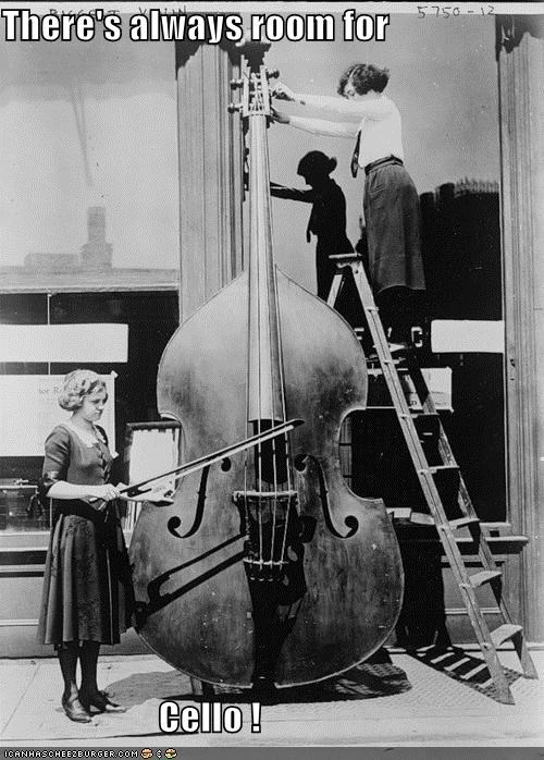funny historic lols instrument lady Music Photo - 5224979456