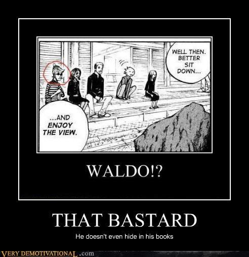 bastard hilarious waldo wtf - 5225124352