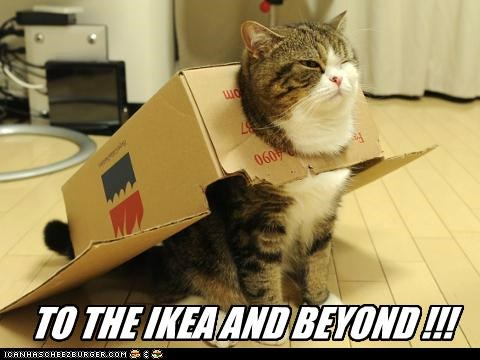TO THE IKEA AND BEYOND !!!