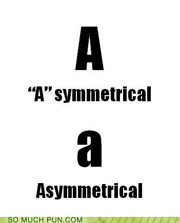 ä,asymmetrical,capital,double meaning,Hall of Fame,letter,literalism,lower case,symmetrical,upper case