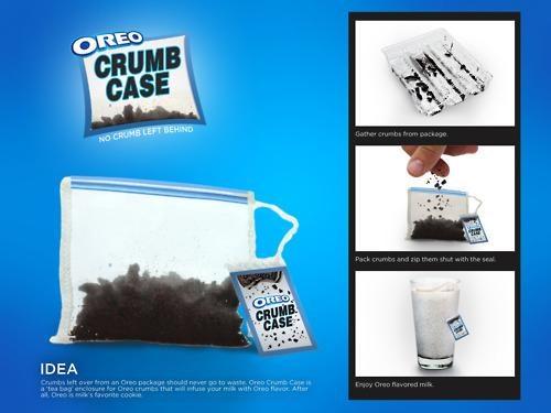 Incredible Invention,Miami Ad School,Oreo Crumb Case