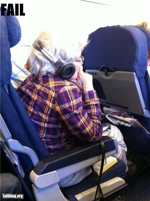 failboat geriatric g rated Hall of Fame headphones technology Travel