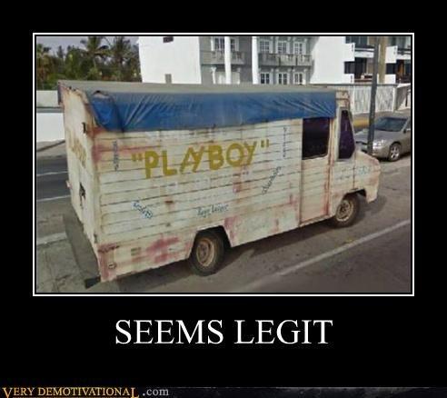 hilarious playboy truck van wtf - 5225987328