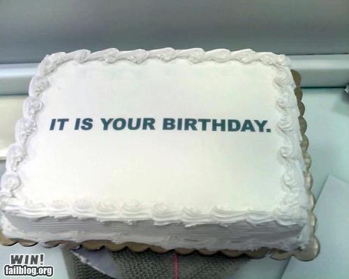 birthday cake custom literal literalism simple - 5226125568