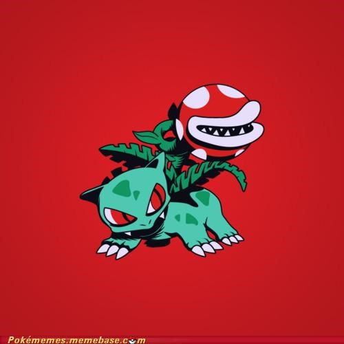 bulbasaur crossover Game Freak nintendo - 5226255360