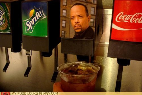 dispenser drink ice t iced tea rapper soda machine