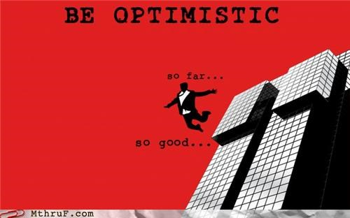attitude jumping optimism suicide