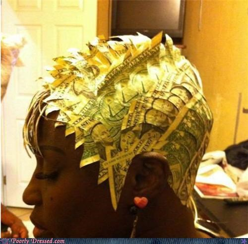 dollar ghetto hair money
