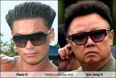 D-Bag,dictator,guido,jersey shore,Kim Jong-Il,pauly d,political,politicians,reality tv,sunglasses