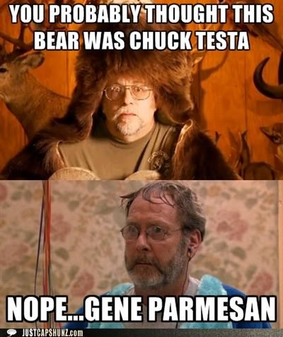 arrested development Chuck Testa gene parmesan martin mull Memes surprise - 5227178496