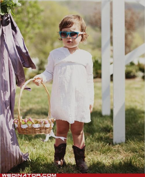 children flower girls funny wedding photos hipsters - 5227190272
