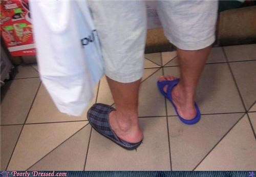 mismatch,sandal,sandals,slippers
