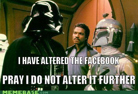 alter best of week facebook further internet Mark Zuckerberg star wars - 5227632896