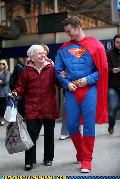 costume old lady priorities Super Costume superman - 5227757824