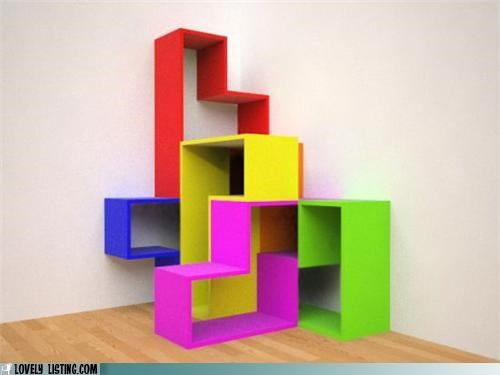 best of the week decor shelves tetris - 5227775744