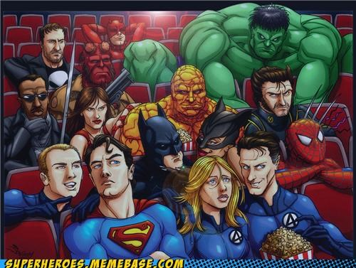 avengers,Awesome Art,batman,blade,daredevil,Fantastic Four,hellboy,hulk,Movie,punisher,Spider-Man,superman,wolverine