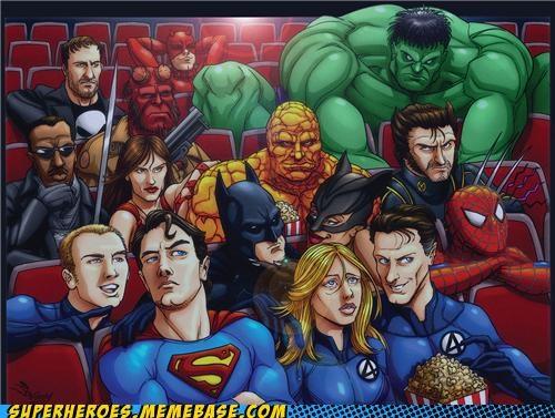 avengers Awesome Art batman blade daredevil Fantastic Four hellboy hulk Movie punisher Spider-Man superman wolverine - 5227796224