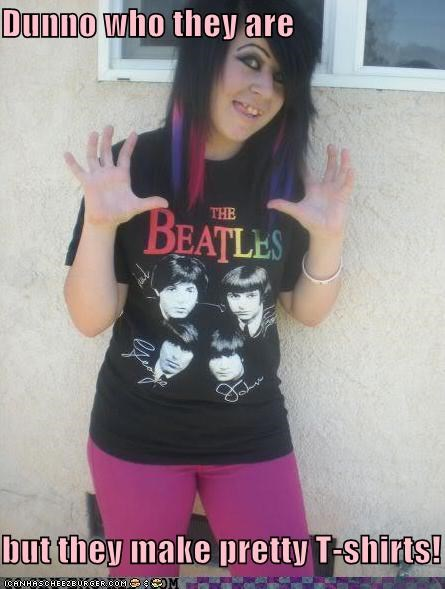 band,beatles,t shirts,weird kid