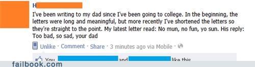 Rhyming dad WIN!